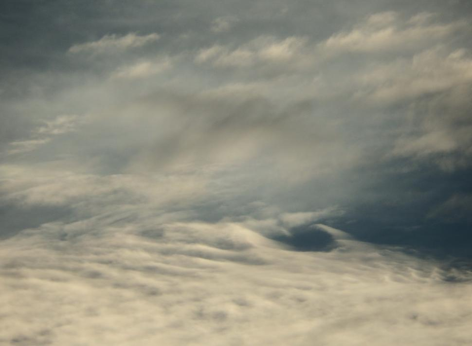 Download Free Stock Photo of Rippled Clouds