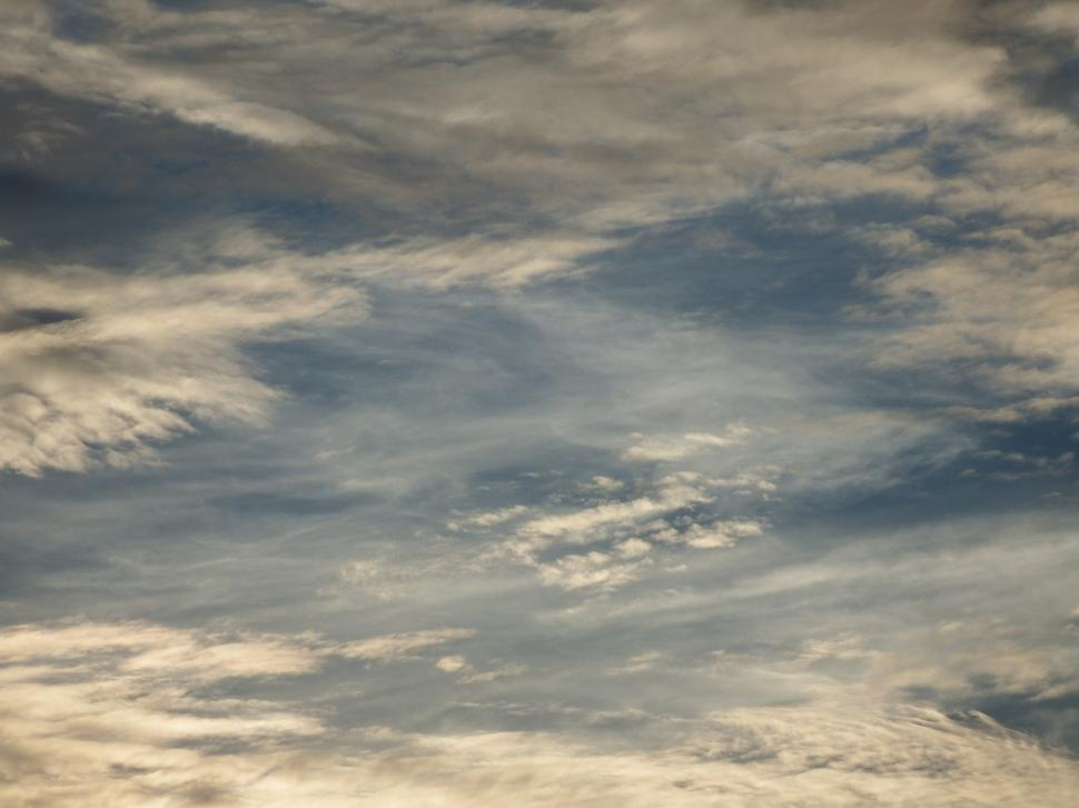 Download Free Stock Photo of Stormy Sky Clouds