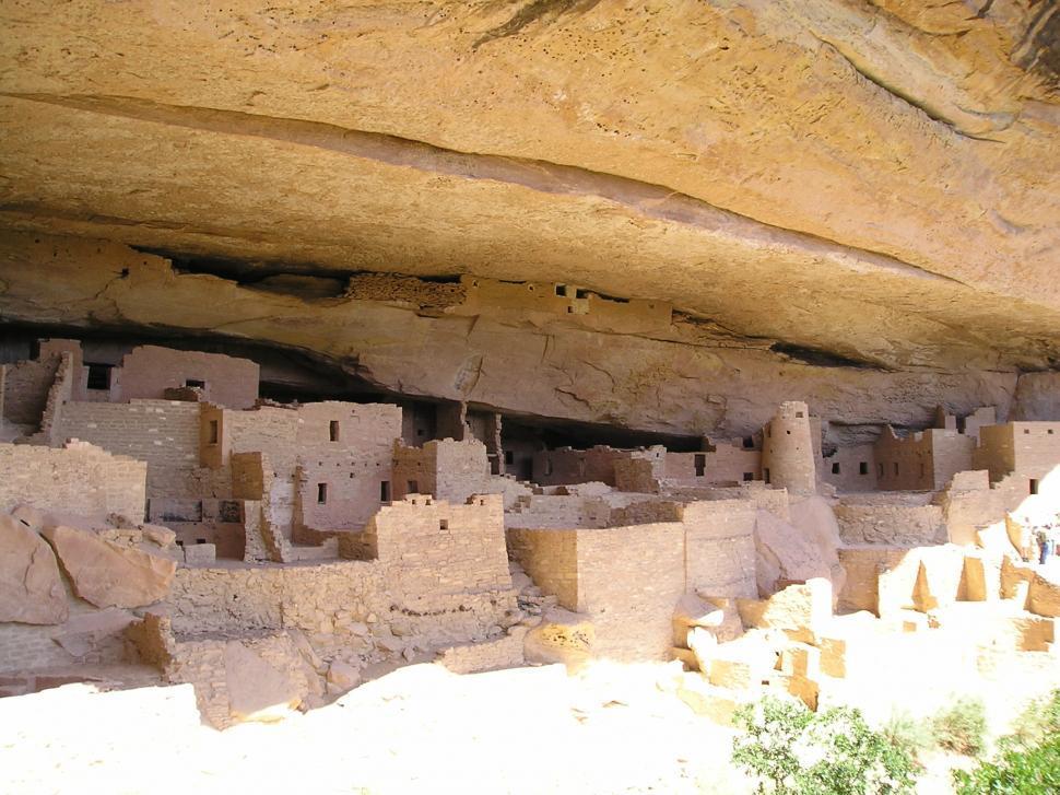 Download Free Stock Photo of Ruins in Mesa Verde