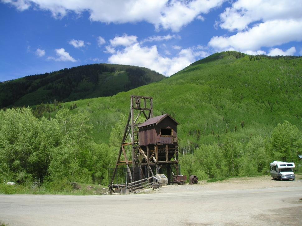 Download Free Stock Photo of Abandoned mine