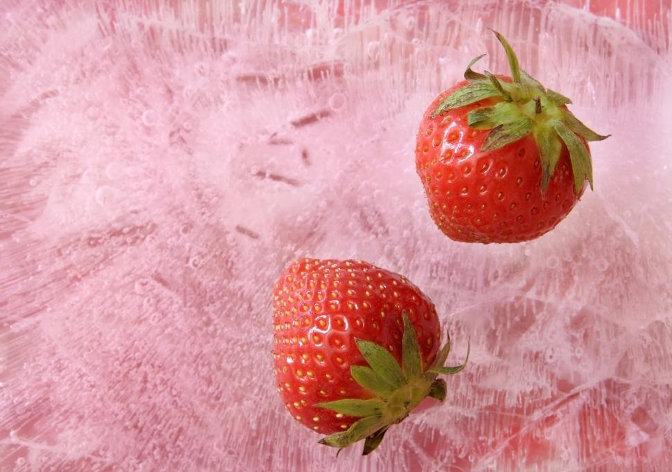 Download Free Stock Photo of Strawberries