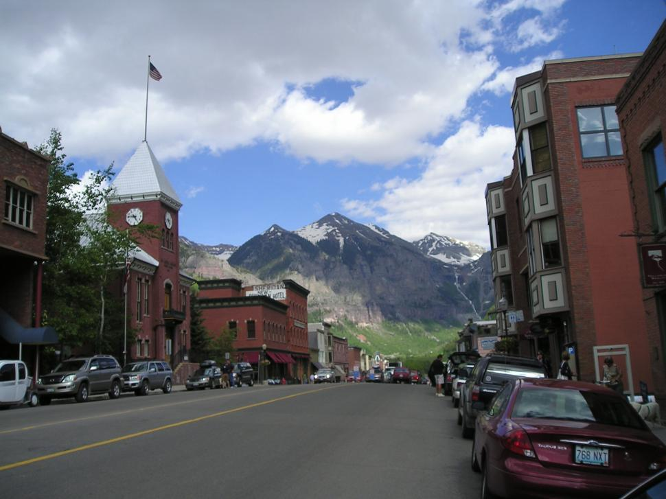 Download Free Stock Photo of City of Telluride, Colorado State