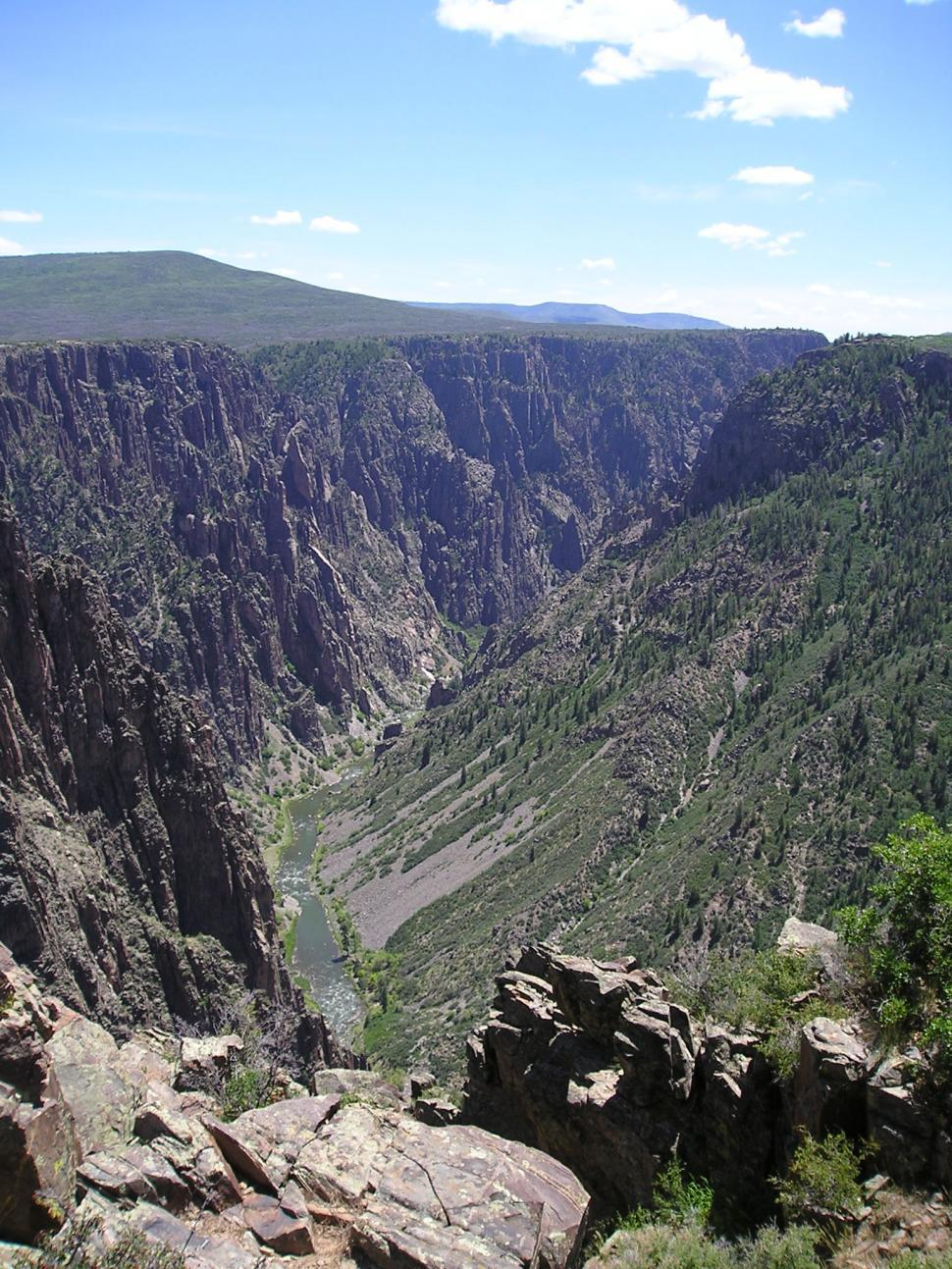 Download Free Stock Photo of Black Canyon