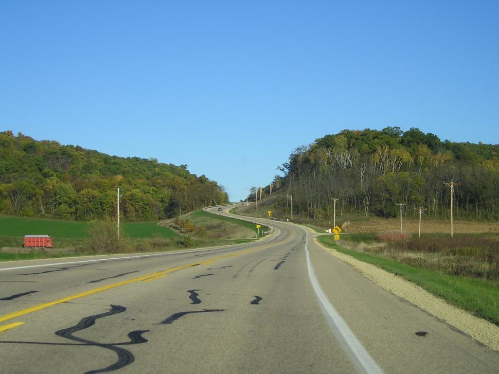Download Free Stock Photo of Wisconsin Road