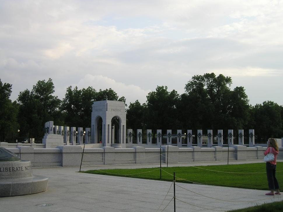 Download Free Stock Photo of World War II Memorial -Pacific
