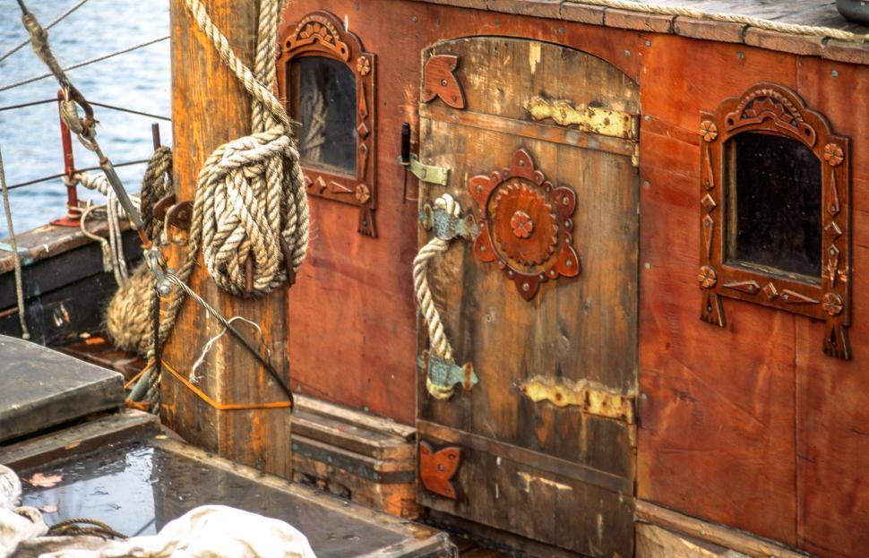 Download Free Stock Photo of Ship Door