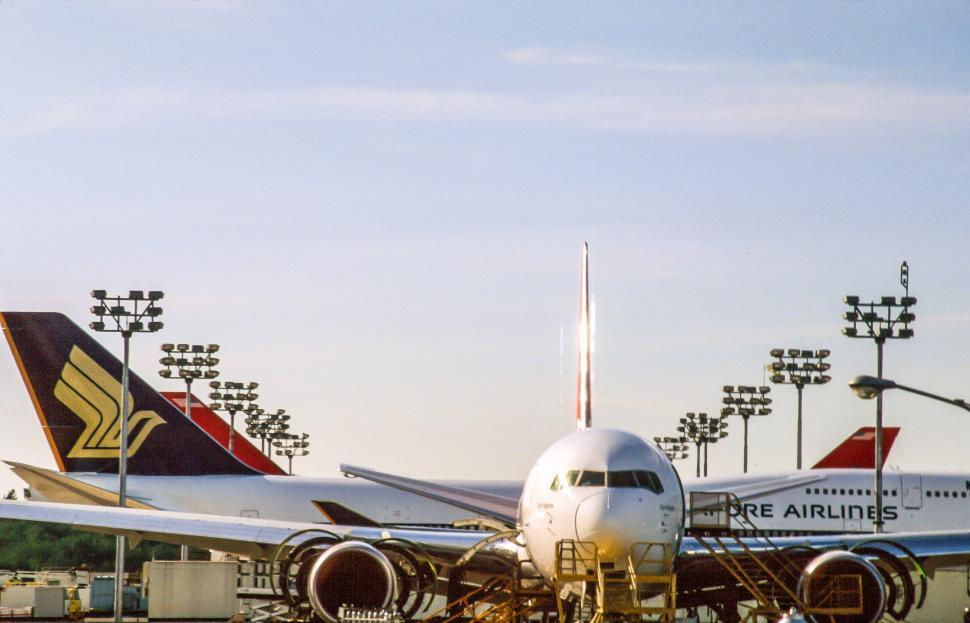 Download Free Stock HD Photo of Airplanes at airport Online