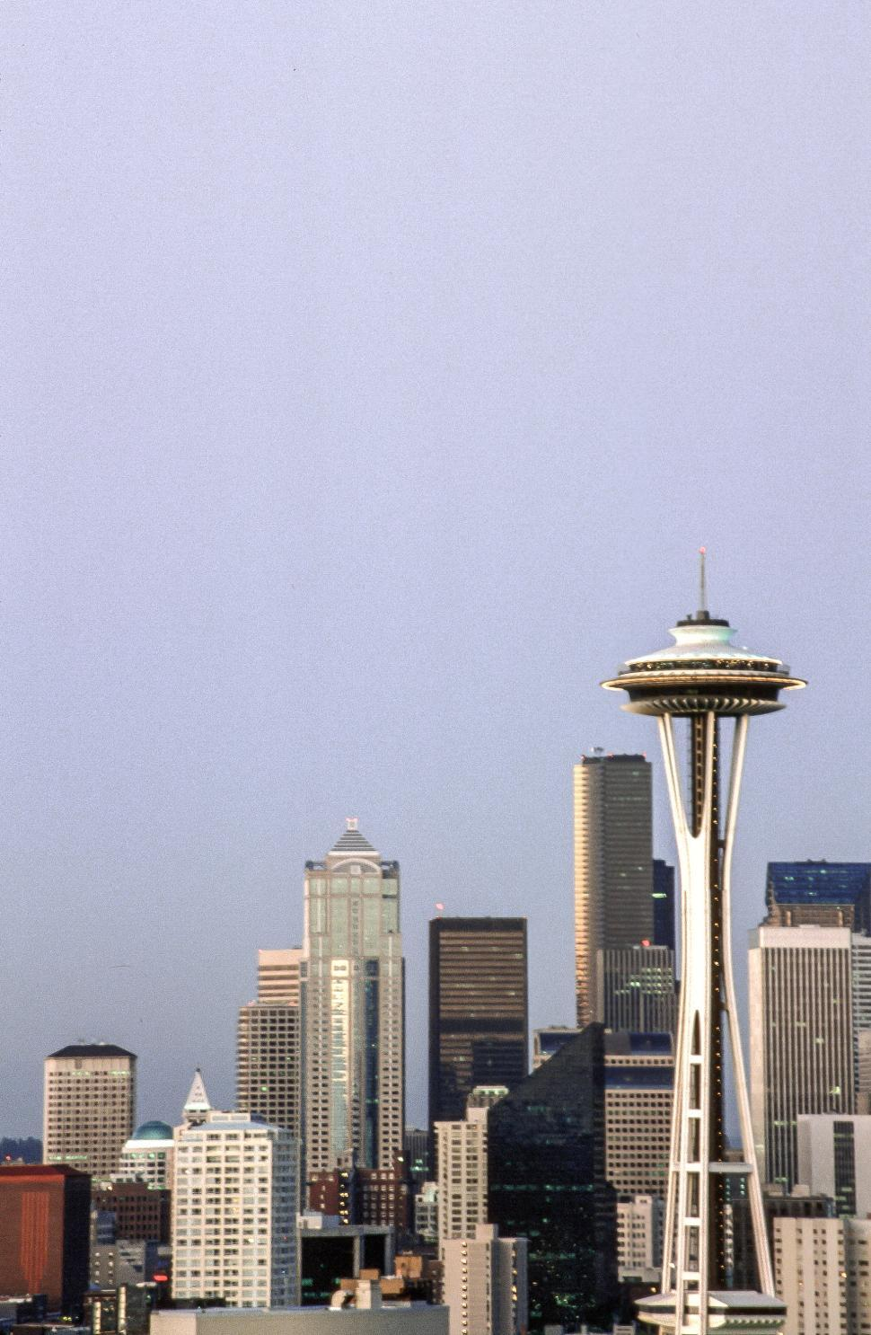 Download Free Stock HD Photo of Space Needle in Seattle Online