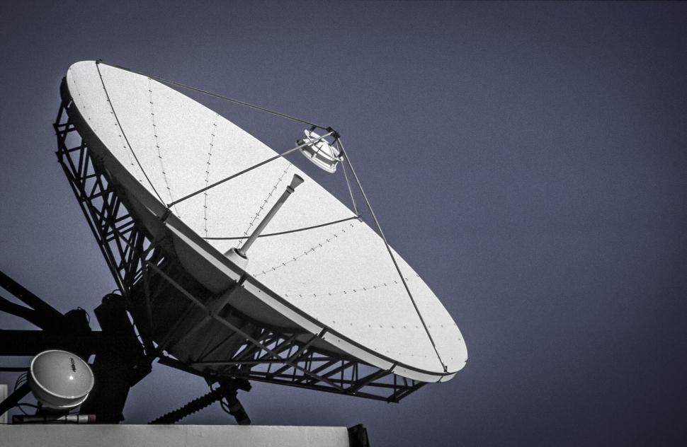 Download Free Stock Photo of Parabolic Antenna