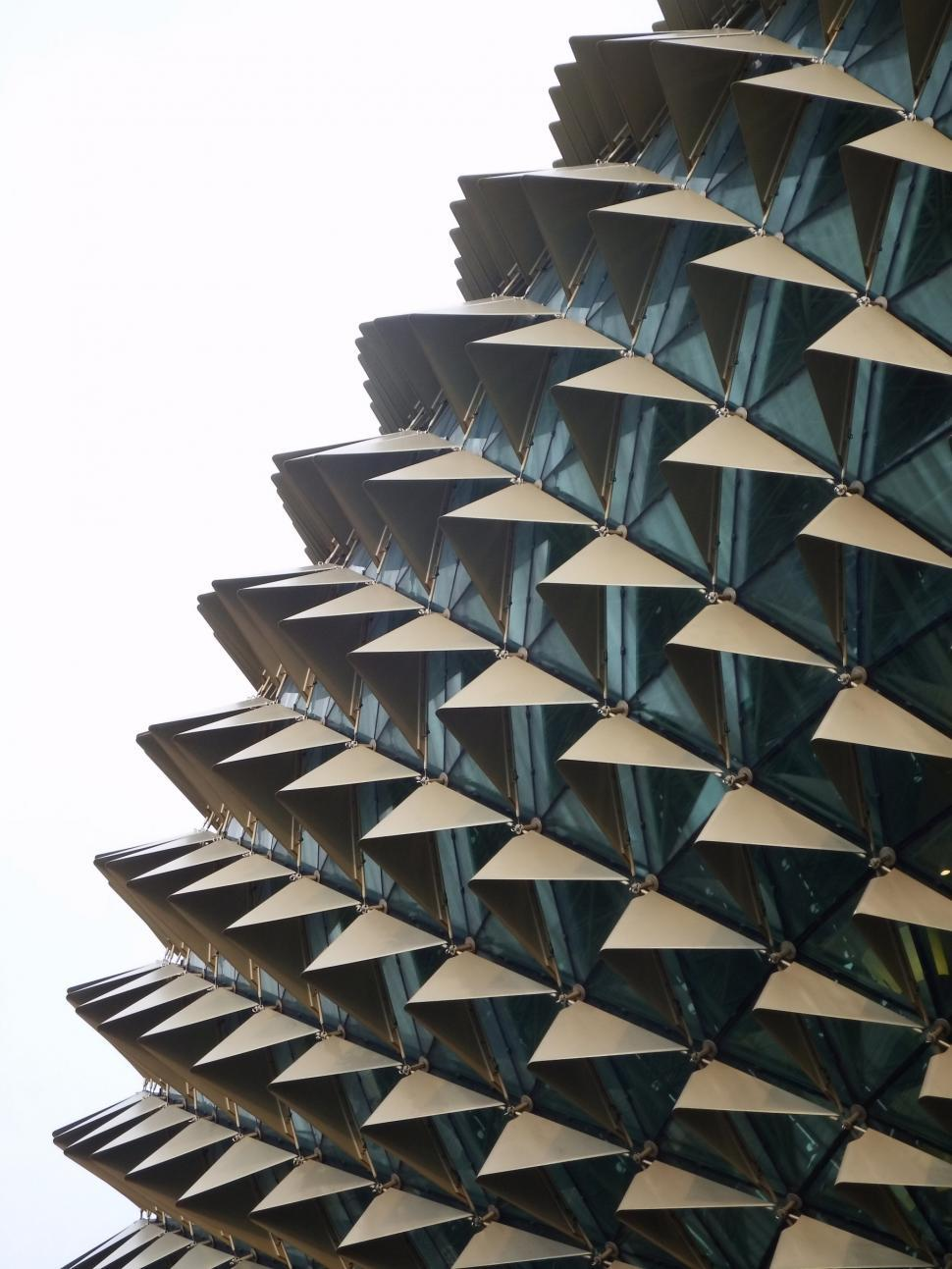 Download Free Stock Photo of Spiky Architecture