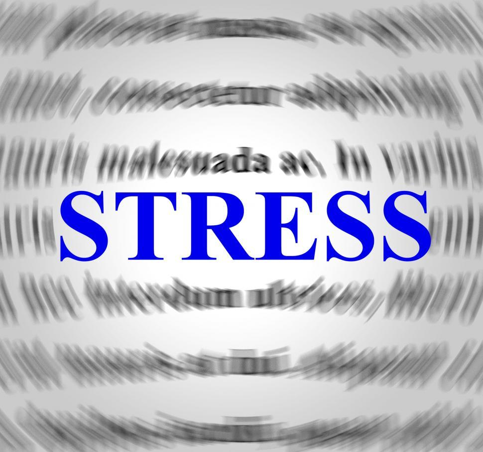 Download Free Stock HD Photo of Stress Definition Indicates Explanation Pressures And Tension Online