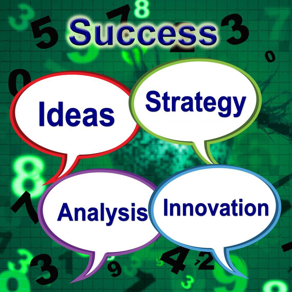 Download Free Stock HD Photo of Success Words Indicates Thoughts Victory And Idea Online