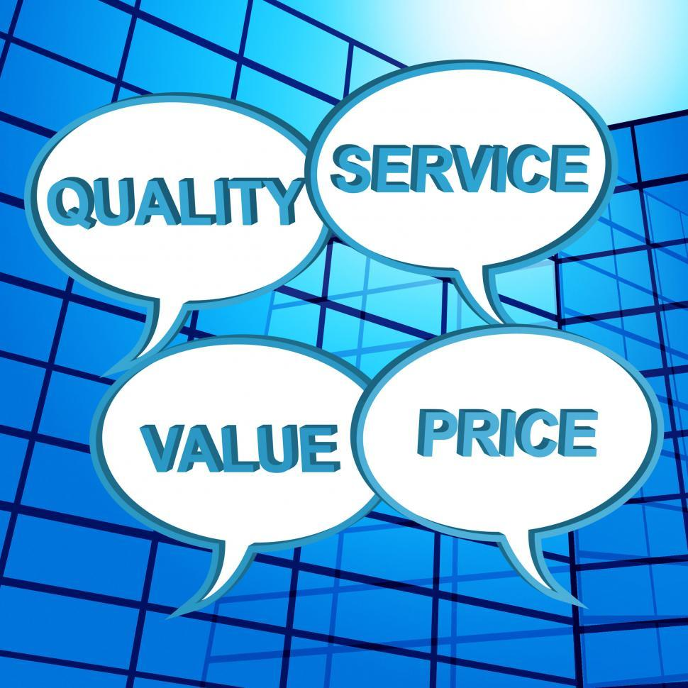 Download Free Stock HD Photo of Quality Words Shows Approval Approved And Satisfaction Online