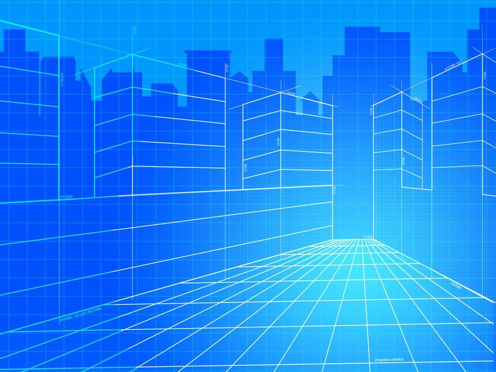 Download Free Stock Photo of City Background Means Commercial Backgrounds And Corporation