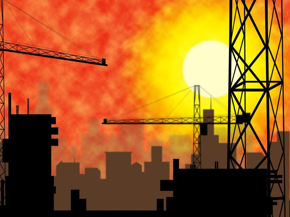 Download Free Stock Photo of City Construction Indicates Constructing Constructed And Buildin