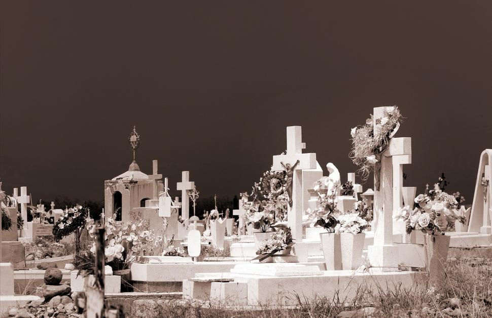 Download Free Stock Photo of Mexican Cemetery