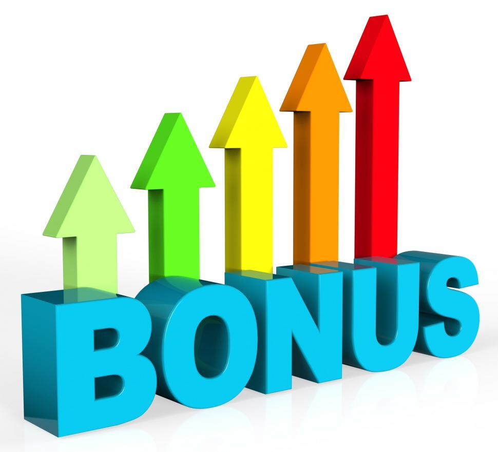 Download Free Stock HD Photo of Increase Bonus Means Asking Price And Amount Online