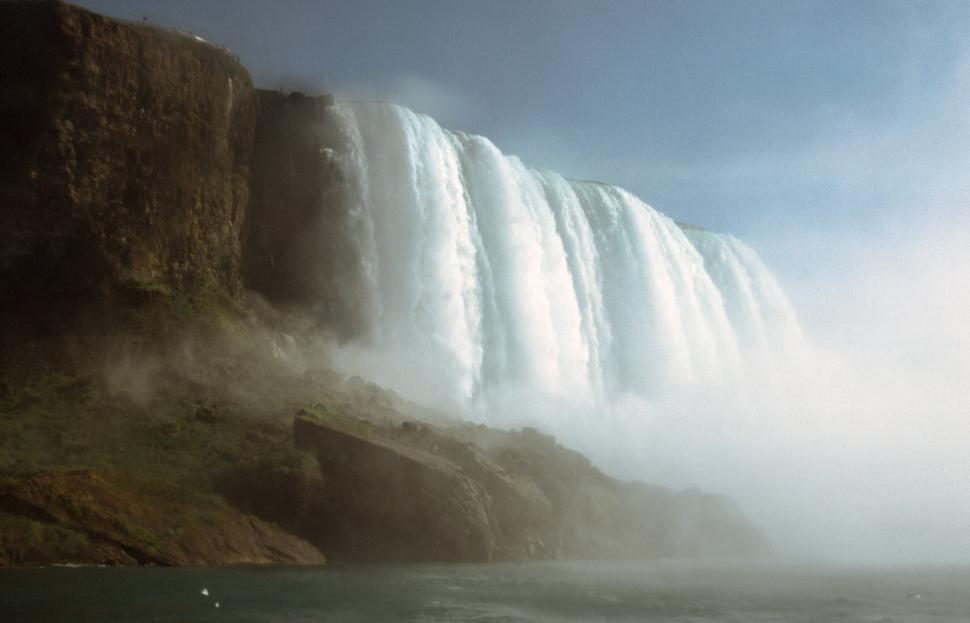 Download Free Stock HD Photo of American Falls from below Online