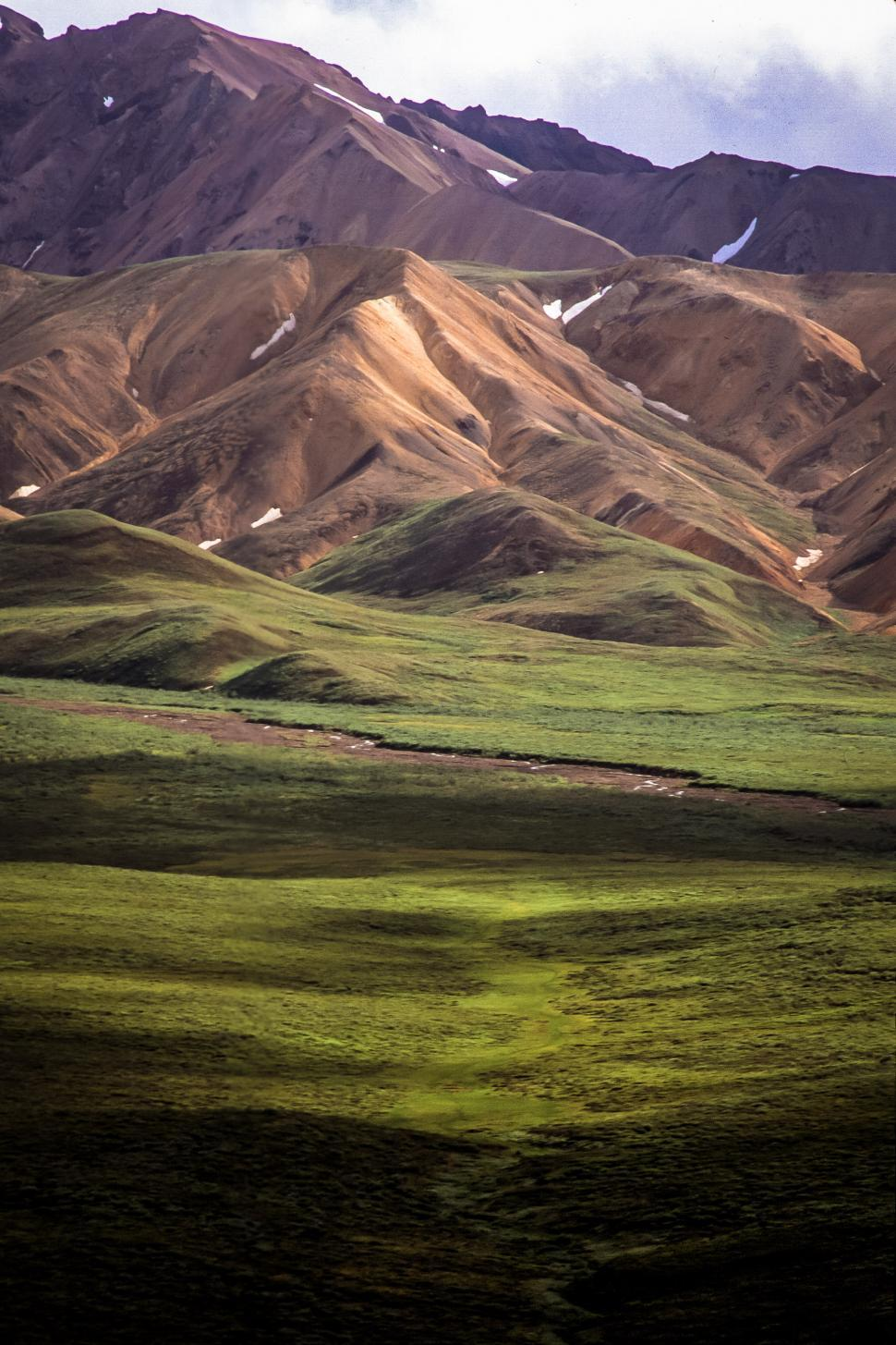 Download Free Stock HD Photo of Polychrome Pass, Denali National Park Online