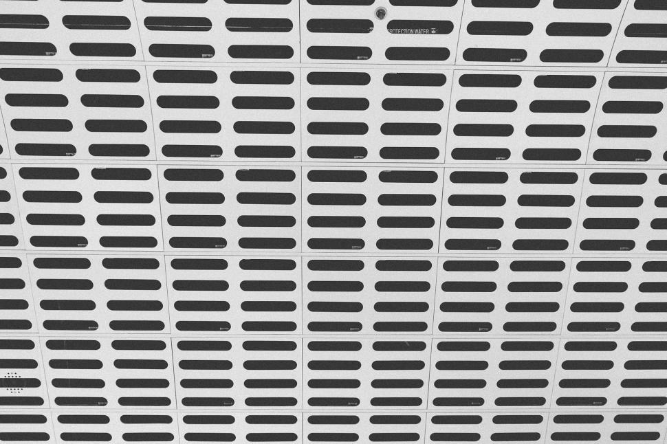 Download Free Stock Photo of blind texture design pattern architecture building line