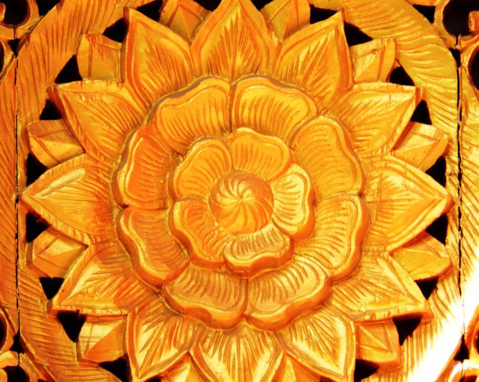 Download Free Stock Photo of Temple Flower Decoration