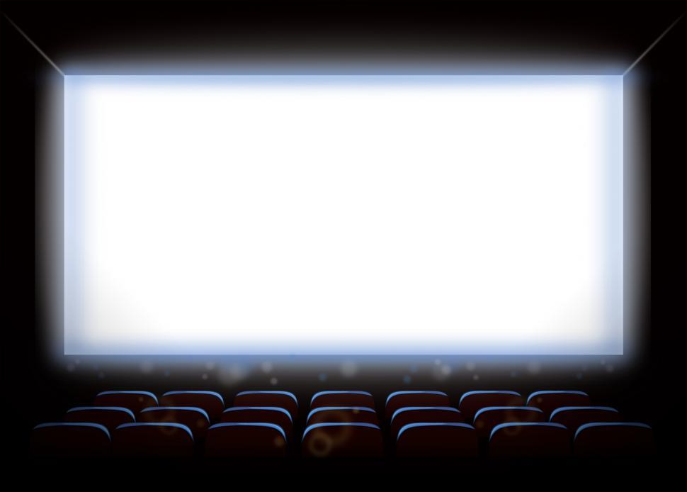 Download Free Stock HD Photo of Empty Movie Theatre - With Copyspace Online