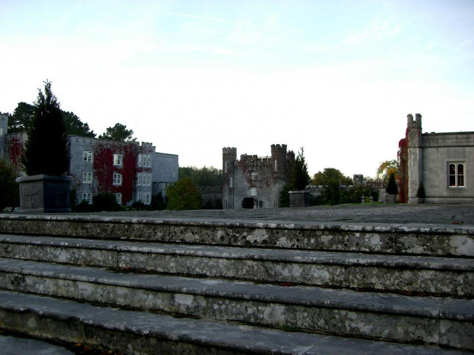 Download Free Stock Photo of Steps of Ireland - Dromoland Castle