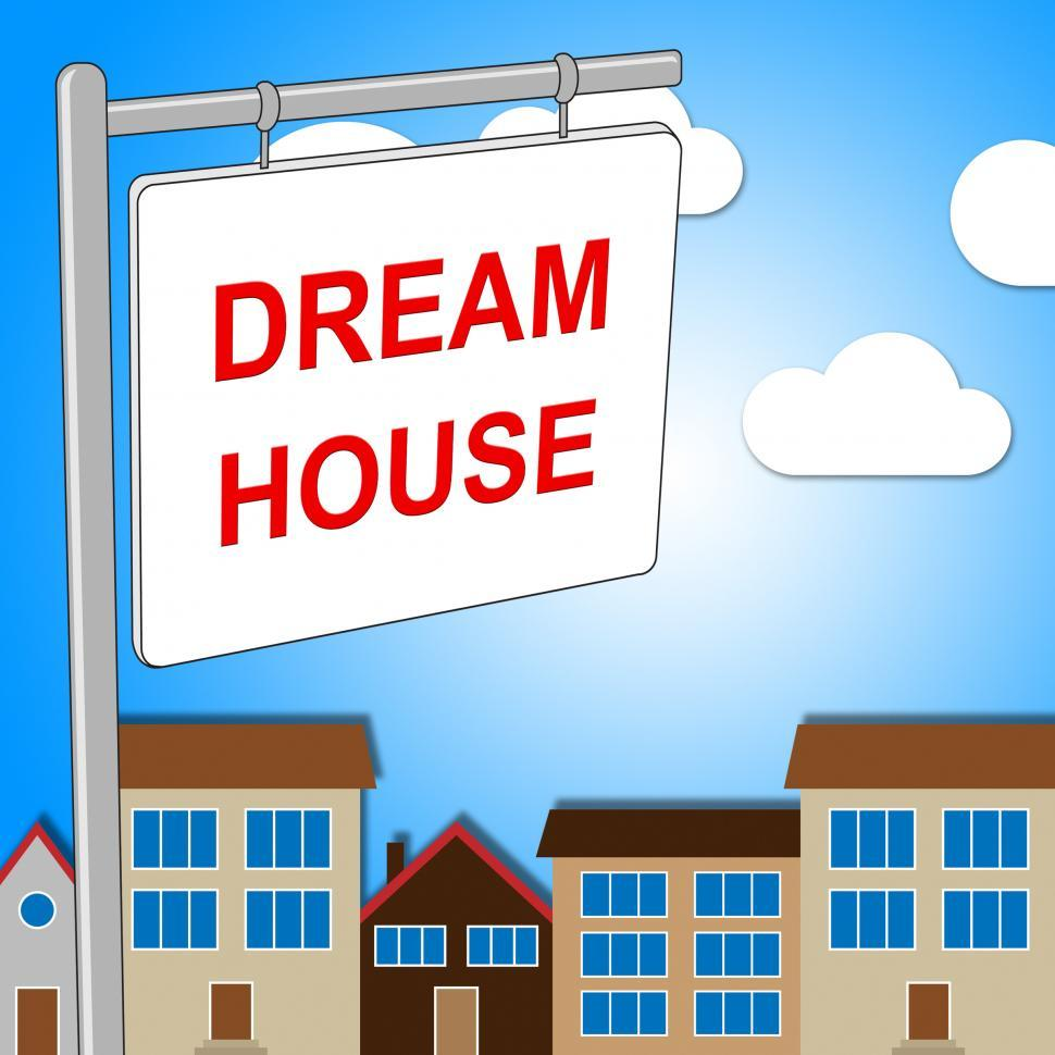 Download Free Stock Photo of Dream House Indicates Displaying Desired And Ultimate