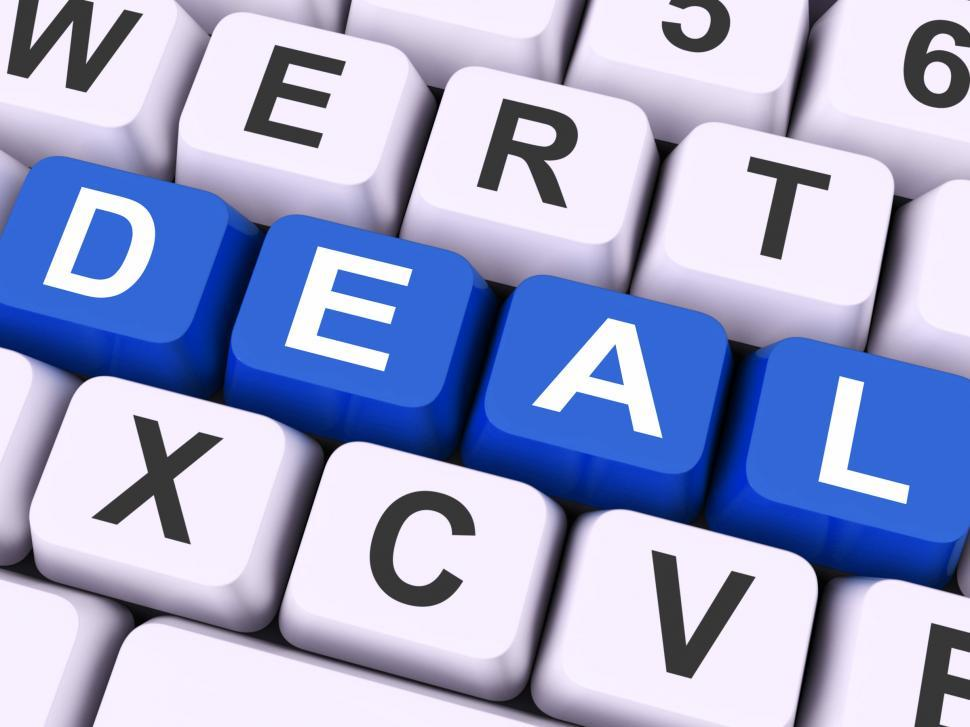 Download Free Stock HD Photo of Deal Key Means Agreement Or Dealing  Online