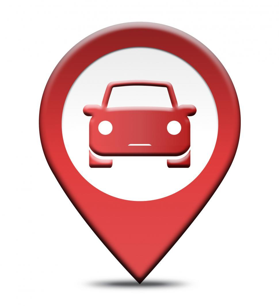 Download Free Stock Photo of Car Rental Location Shows Automobile Hire Places