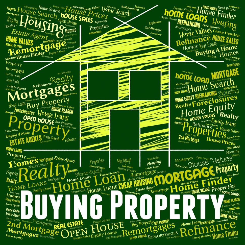 Download Free Stock Photo of Buying Property Represents Real Estate And Apartment