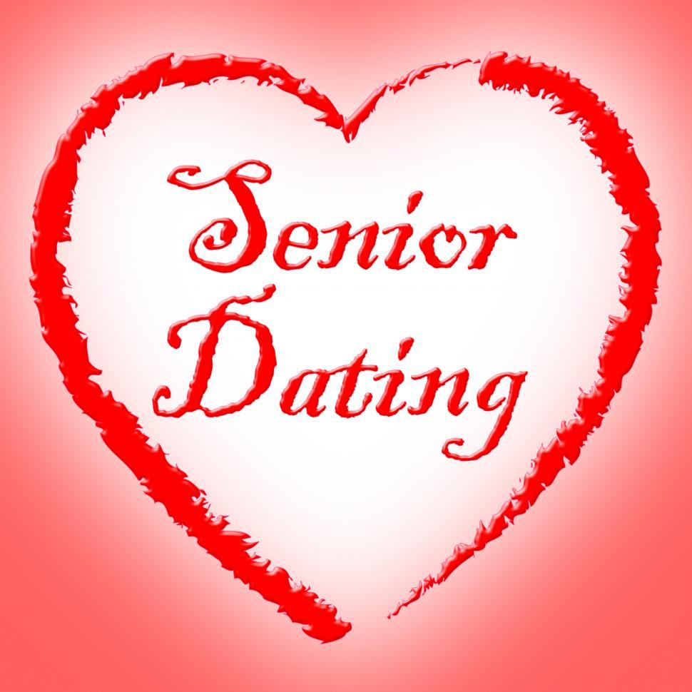 Download Free Stock Photo of Senior Dating Represents Mature Internet And Retirement