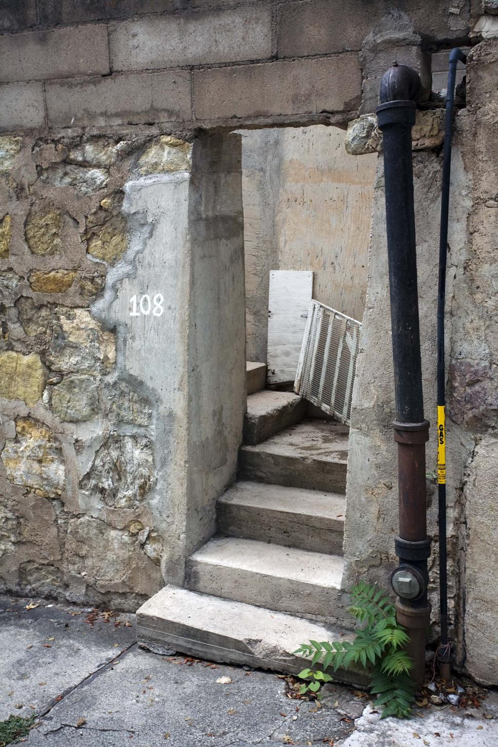 Download Free Stock HD Photo of Stone steps and entryway Online