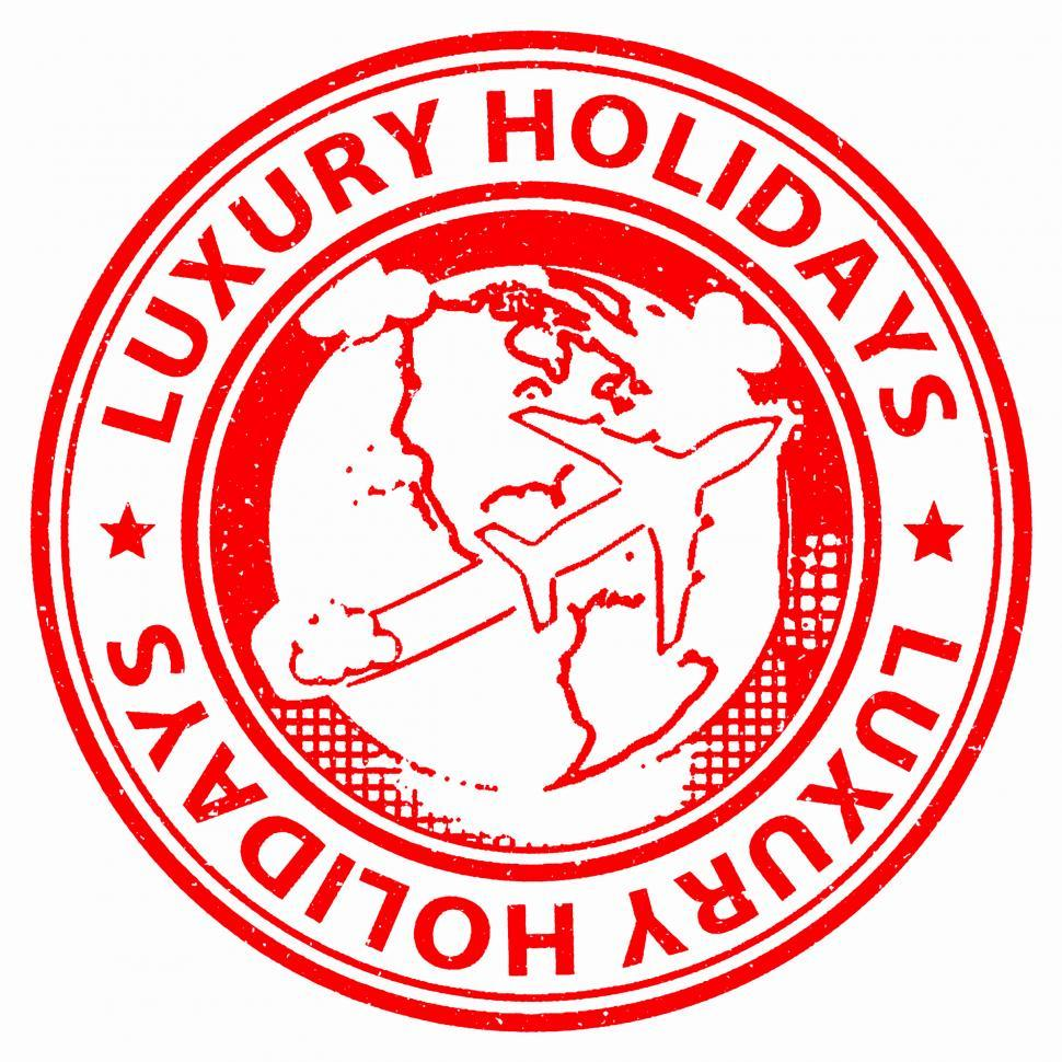 Download Free Stock Photo of Luxury Holidays Means High Quality And Break