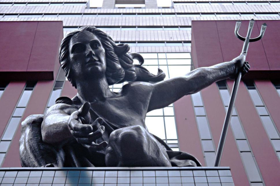 Download Free Stock HD Photo of Portlandia Sculpture Online