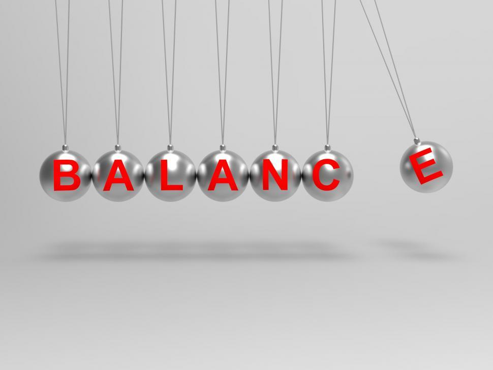 Download Free Stock HD Photo of Balance Spheres Shows Balanced life Online