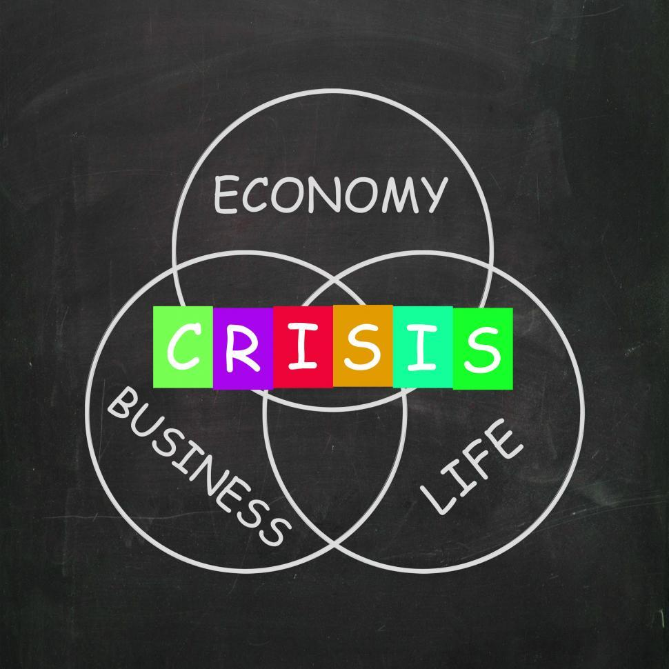 Download Free Stock Photo of Business Life Crisis Means Failing Economy or Depression