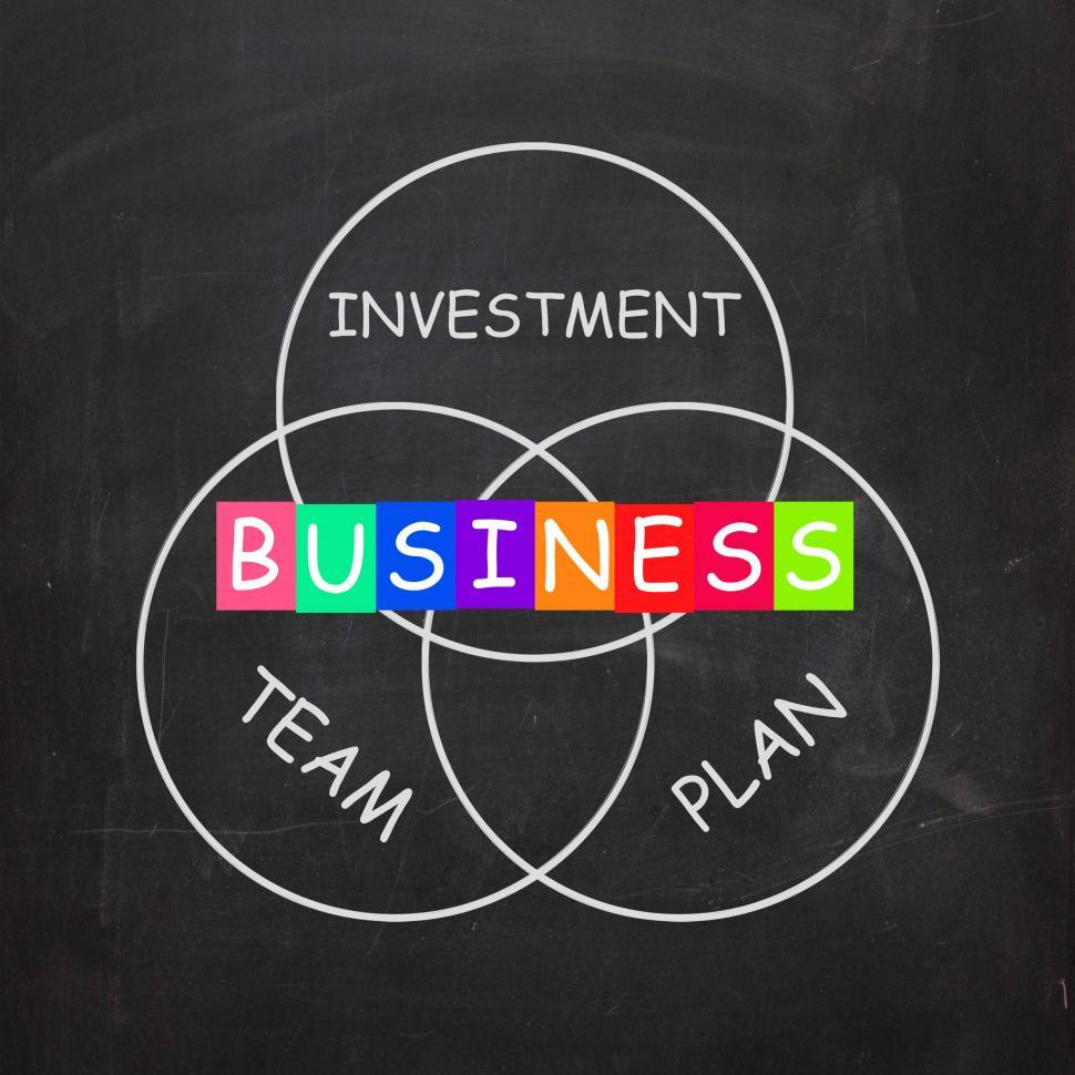 Download Free Stock Photo of Business Requirements are Investments Plans and Teamwork
