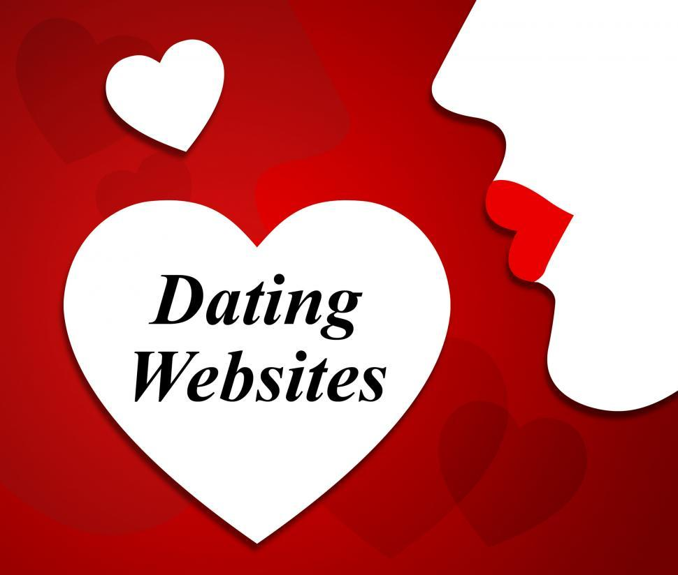Download Free Stock Photo of Dating Websites Represents Love Internet And Sweethearts
