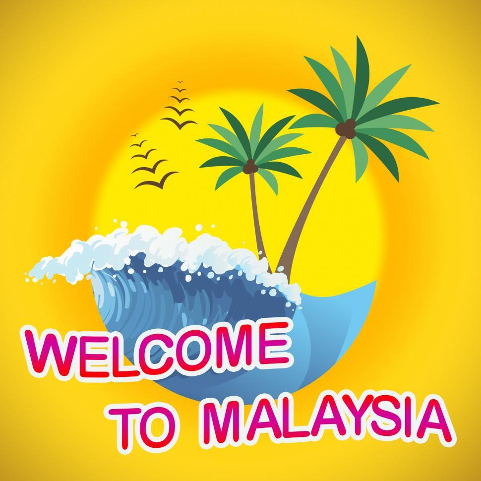 Download Free Stock Photo of Welcome To Malaysia Getaway Summer Tropical Vacation