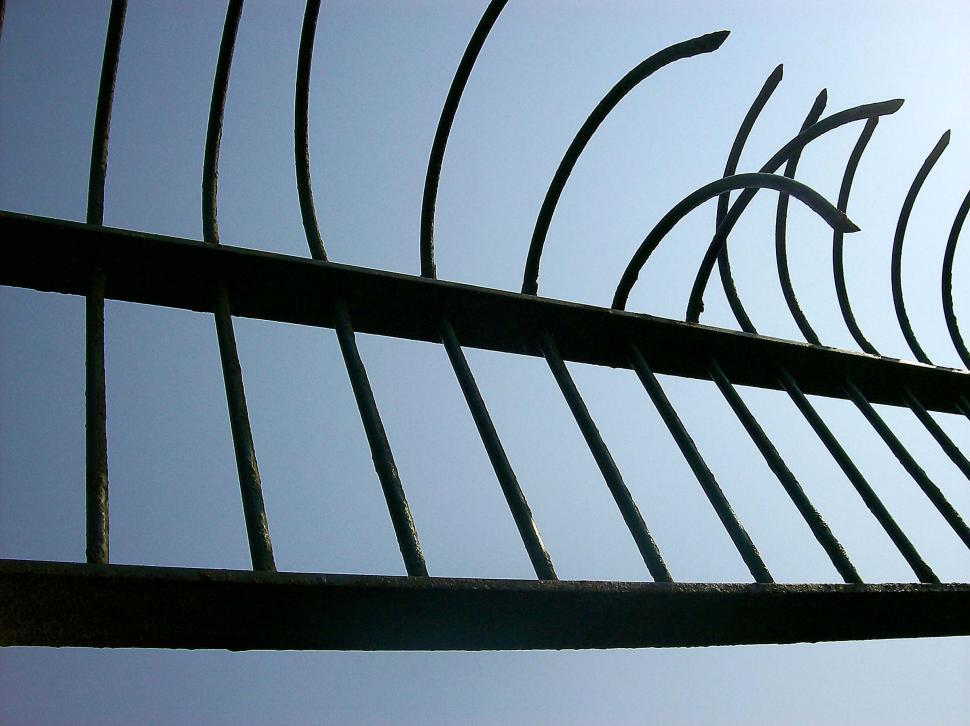 Download Free Stock HD Photo of Bent Fence Online