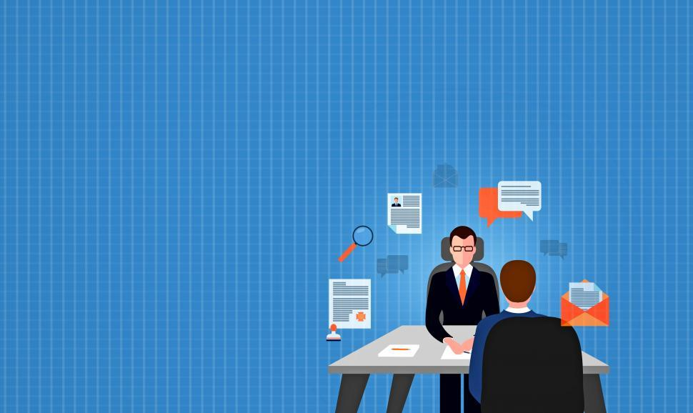 Download Free Stock Photo of Hiring New Employees - Job Interview and Recruitment Selection I