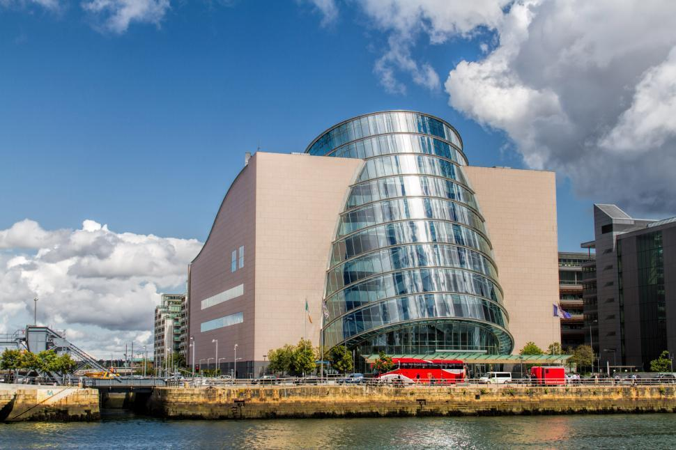 Download Free Stock Photo of Convention Centre Dublin