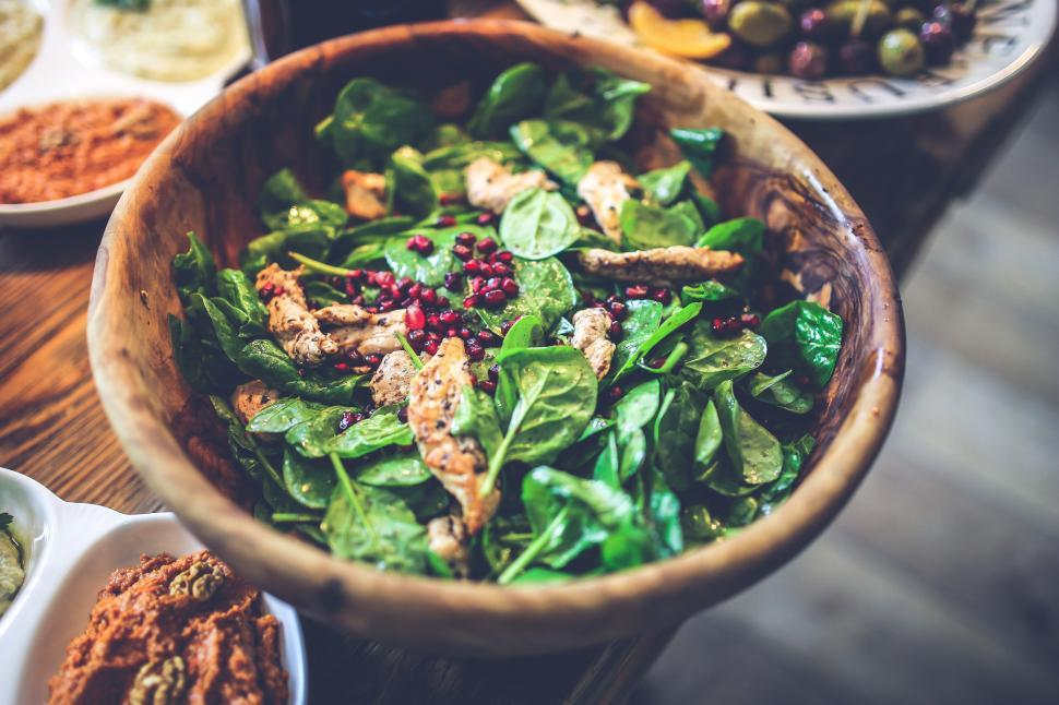 Download Free Stock Photo of Bowl Chicken Colorful Fit Green fillet food fruit healthy pomegranate salad spinach weight loss wooden dish food meal bowl dinner lunch stew hot pot soup cuisine vegetable plate healthy meat restaurant pot nutriment cooking hot container fresh gourmet tea sauce pepper diet delicious cook