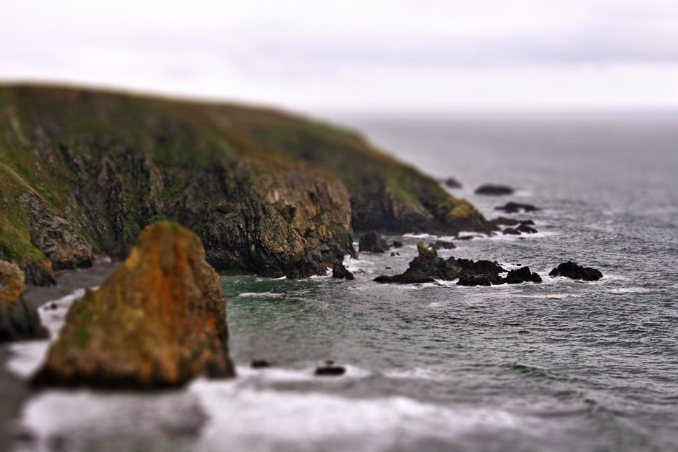 Download Free Stock Photo of beach cliff ireland tilt-shift waterscape shore sea coast promontory ocean water beach natural elevation rock landscape island coastline seashore travel sky geological formation summer vacation rocks cliff wave bay mountain sun sand tourism waves sunny seascape shoreline seaside grey whale holiday stone