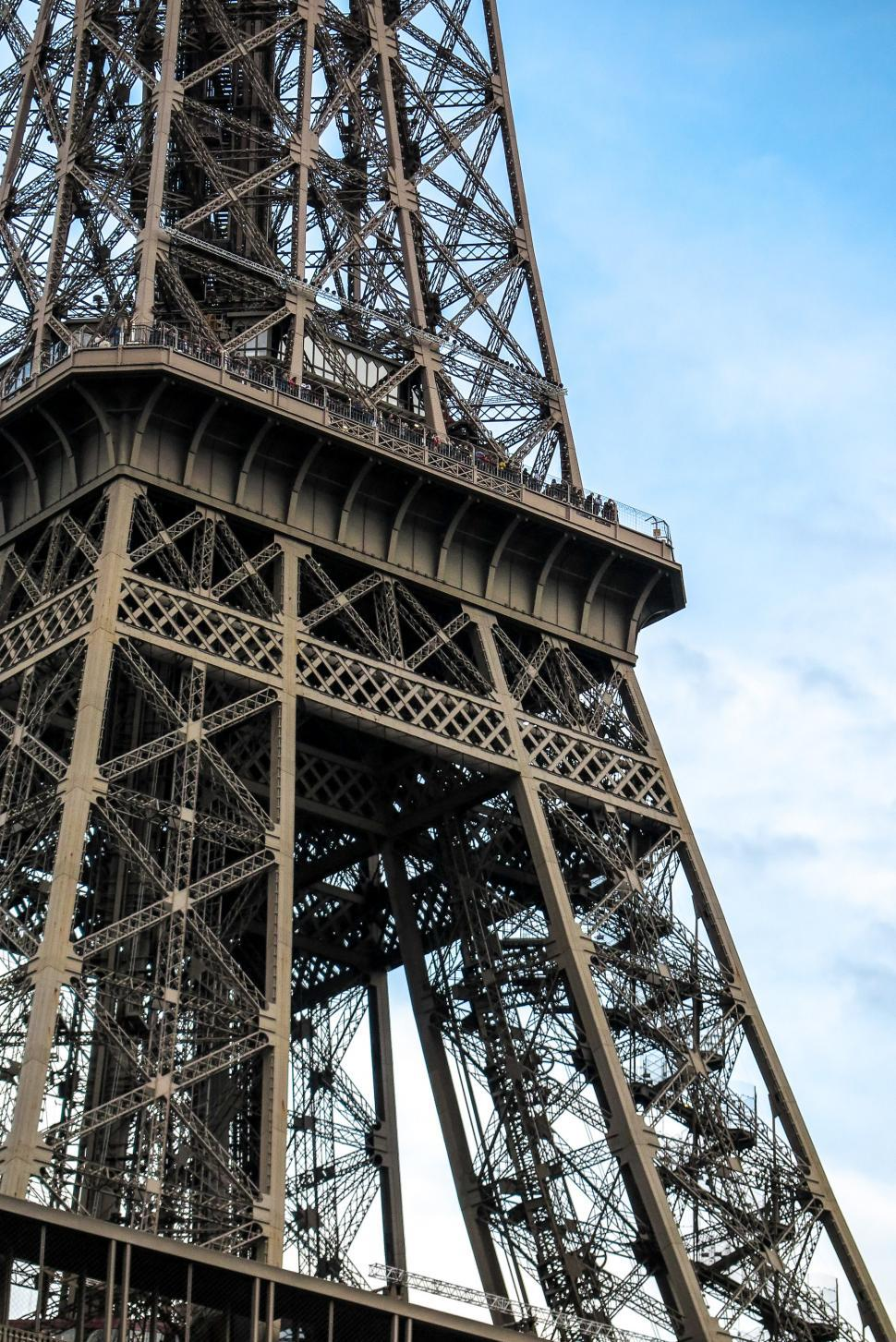 Download Free Stock Photo of Eiffel Tower structure