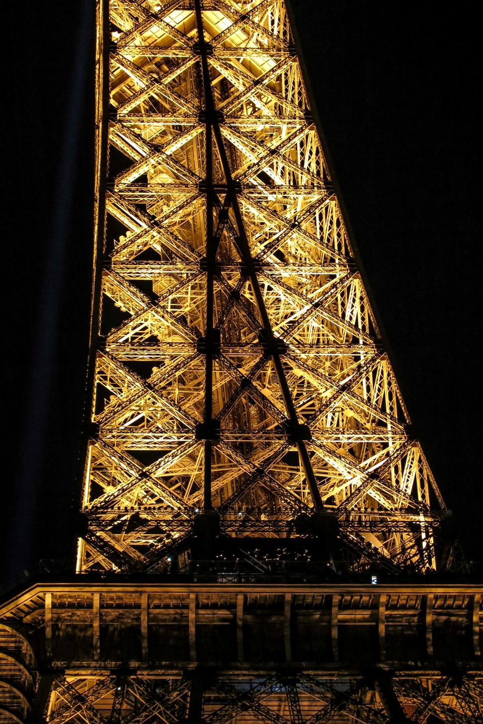 Download Free Stock Photo of Tower Structure at Night