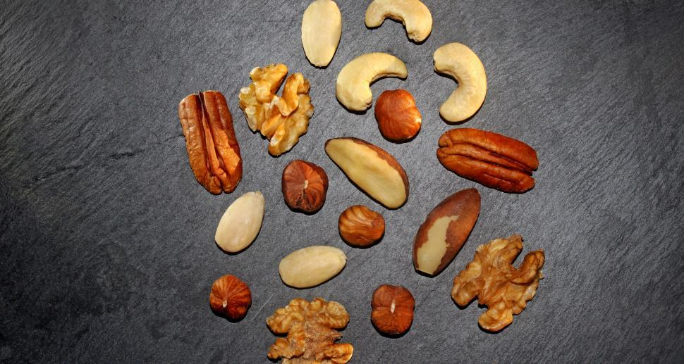 Download Free Stock HD Photo of Assorted Mixed Nuts for Your Health Online