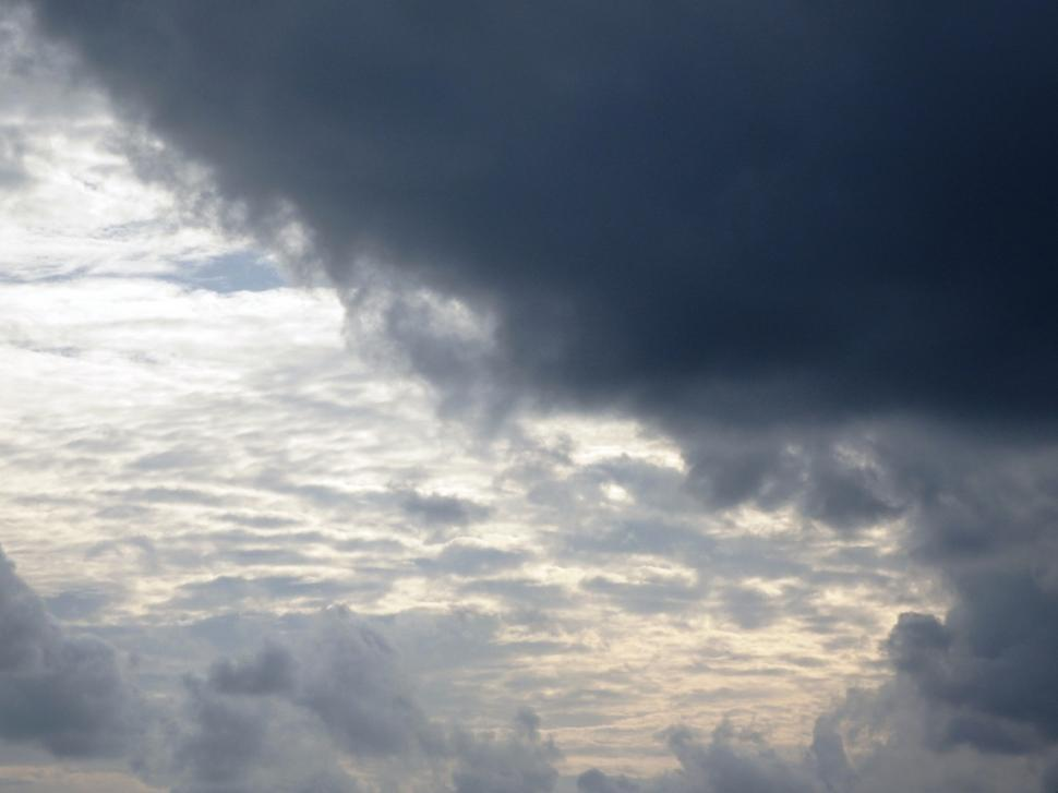 Download Free Stock Photo of Break in Cloudy Skies