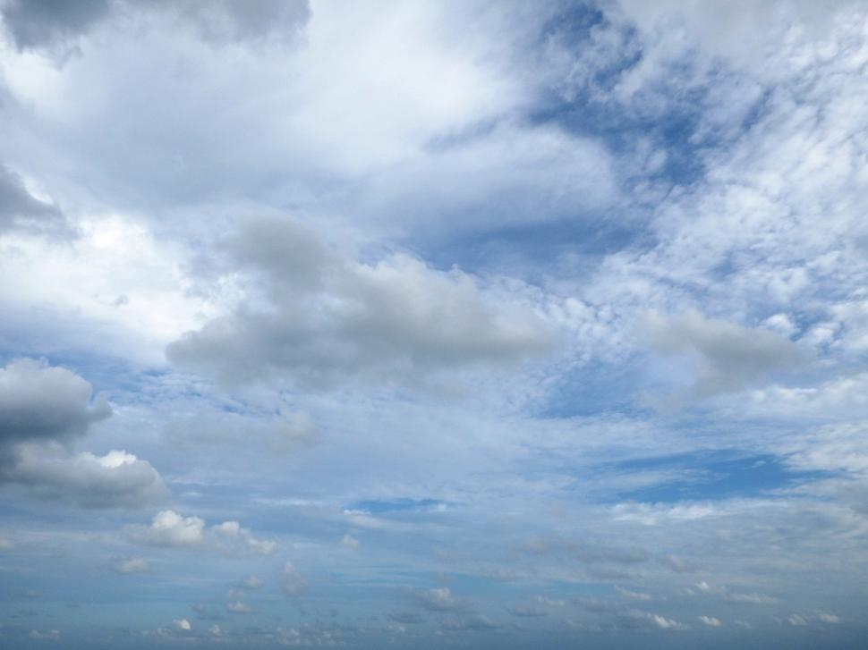 Download Free Stock Photo of Partly Cloudy Skies